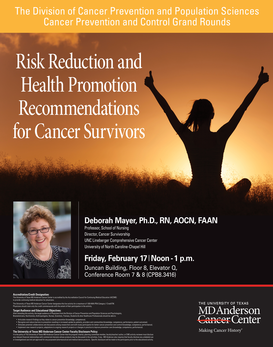Risk Reduction and Health Promotion Recommendations for Cancer Survivors