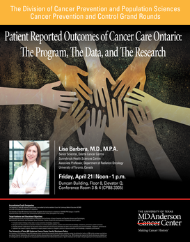 Patient Reported Outcomes of Cancer Care Ontario: The Program, The Data, and The Research