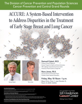 ACCURE: A System-Based Intervention to Address Disparities in the Treatment of Early Stage Breast and Lung Cancer