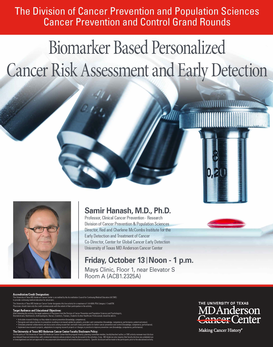 CPC Grand Rounds - Biomarker Based Personalized Cancer Risk Assessment and Early Detection