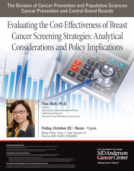 CPC Grand Rounds - Evaluating the Cost-Effectiveness of Breast Cancer Screening Strategies: Analytical Considerations and Policy Implications