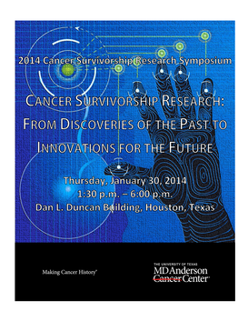 2014 Cancer Survivorship Research Symposium