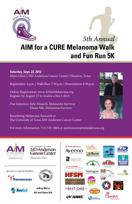 AIM for a CURE Melanoma Walk and Fun Run