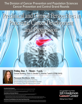 CPC Grand Rounds - Preclinical and Clinical Perspectives in Pancreatic Cancer Development and Progression