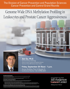 CPC Grand Rounds - Genome-wide DNA methylation profiling in leukocytes and prostate cancer aggressiveness