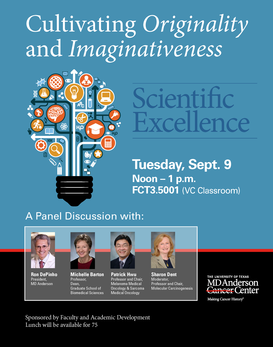 Scientific Excellence:   Cultivating Originality and Imaginativeness