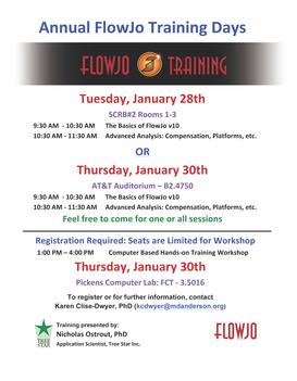 FlowJo hands-on training