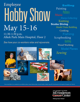 Employee Recognition Hobby & Art Show