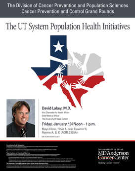 CPC Grand Rounds - The UT System Population Health Initiatives