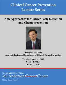 Clinical Cancer Prevention Lecture Series:
