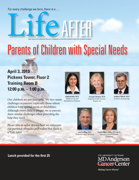 Life After:  Parents of  Children with Special Needs