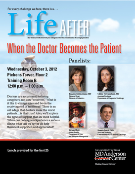 Life After:  When the Doctor Becomes the Patient