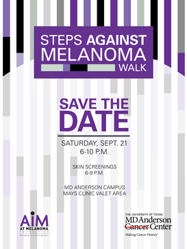 Steps Against Melanoma Walk