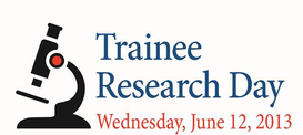 Trainee Research Day - Oral and Poster Competitions