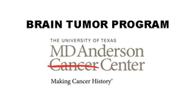 Training in Brain Tumor Research Seminars presents Frederick F. Lang , MD