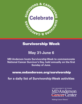 Survivorship Week: Main Building Daily Activities
