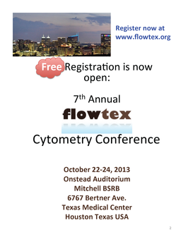 FlowTex Cytometry Conference