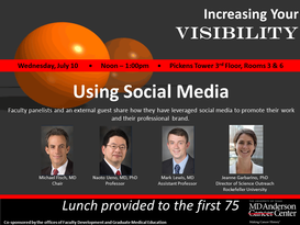 Series on Increasing Your Visibility (Part 1):  Using Social Media