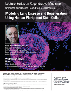 Modeling Lung Disease and Regeneration Using Human Pluripotent Stem