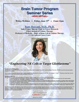 Brain Tumor Program Seminar Series
