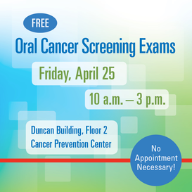 Free Oral Cancer Screening Exams