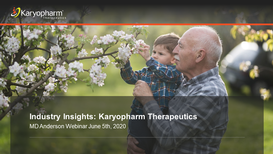 Industry Insights from Executive Leadership of Karyopharm Therapeutics
