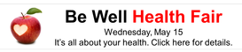Be Well Health Fair: Get free screenings and more
