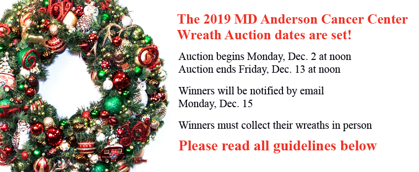 9fc304164 Adopt-a-Patient/Family Wreath Auction