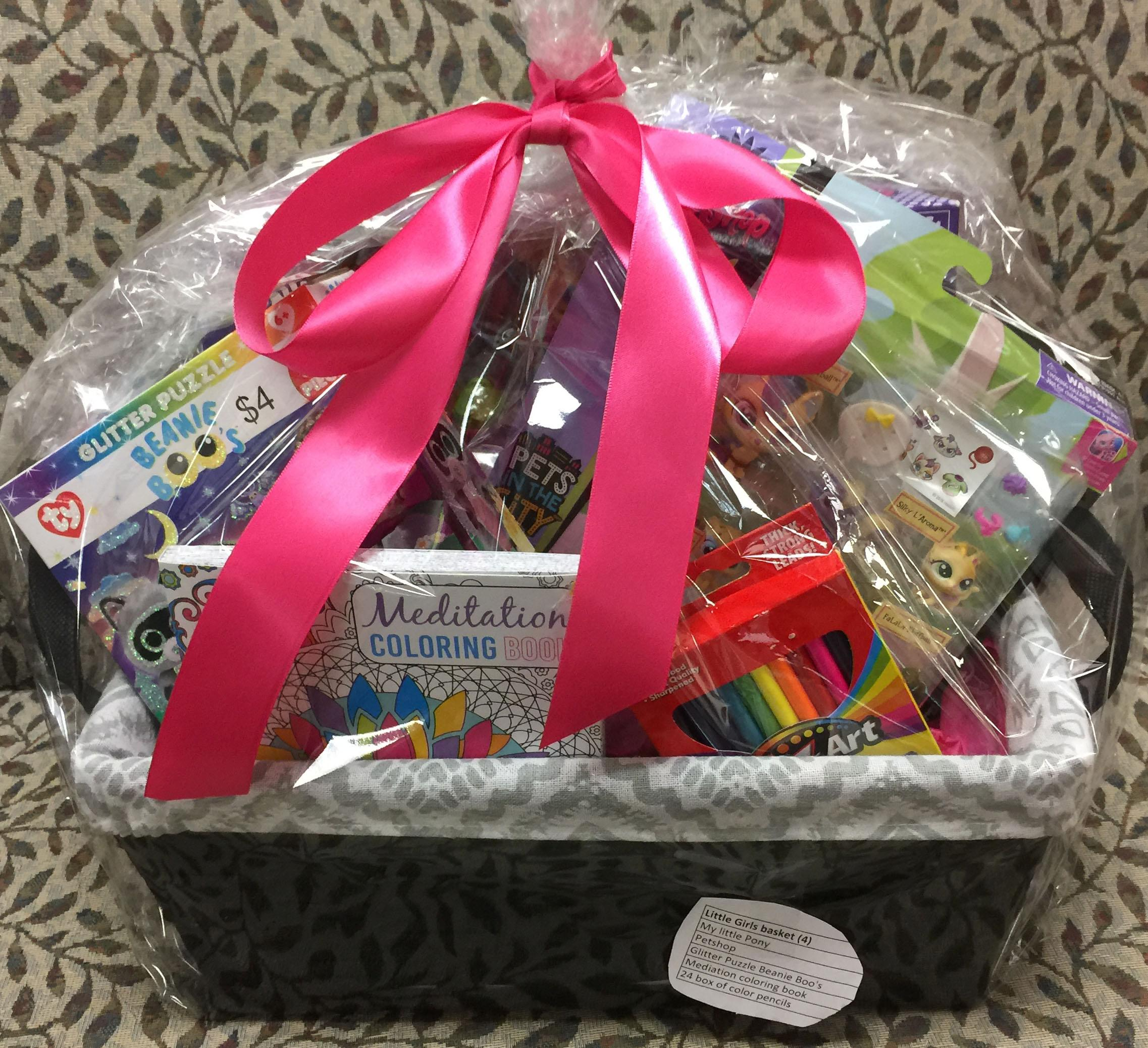 Silent Auction: Adopt a Family - Leukemia - Little Girl\'s Basket ...