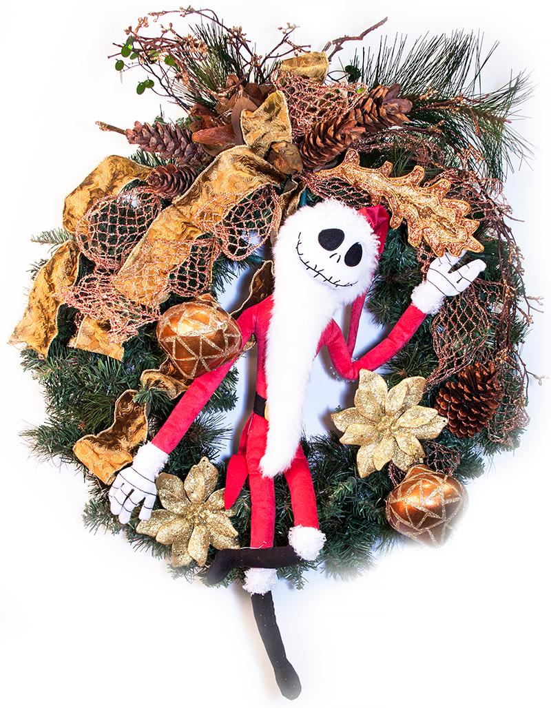 Adopt-a-Patient/Family Wreath Auction - 039 Nightmare Before ...