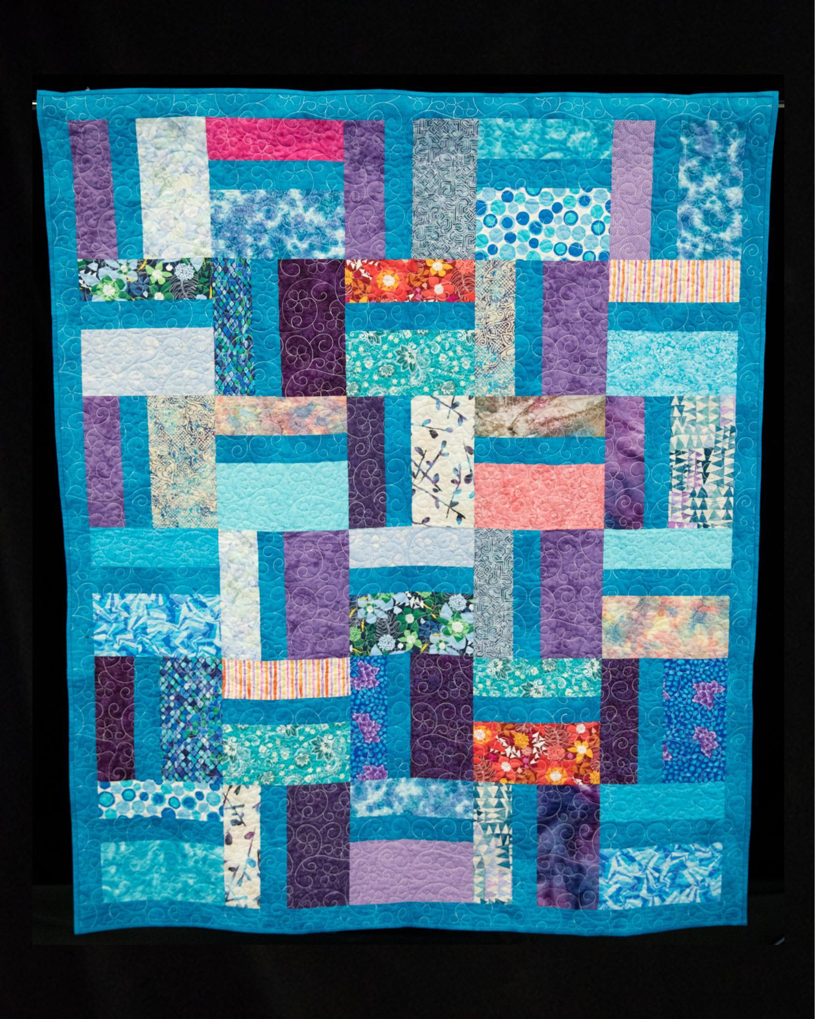 Ovarian Cancer Quilt Project S Online Auction 2019 Gail S Quilt Fl