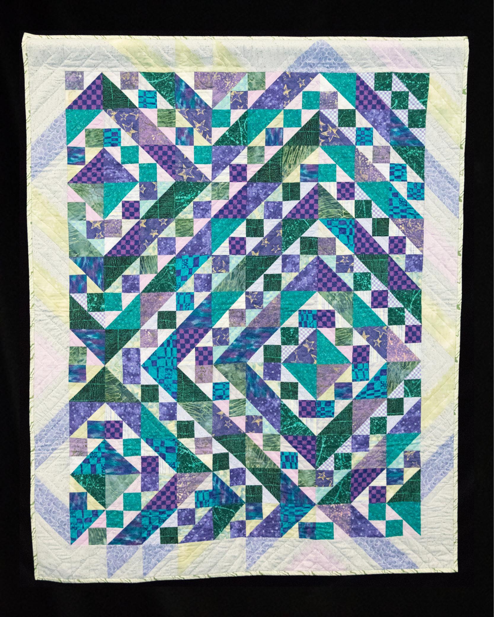 ovarian cancer quilt auction)
