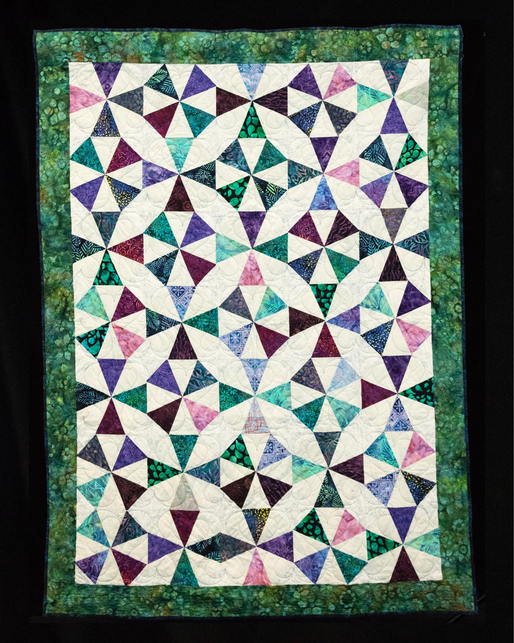 Ovarian Cancer Quilt Project S Online Auction 2019 Round About Al
