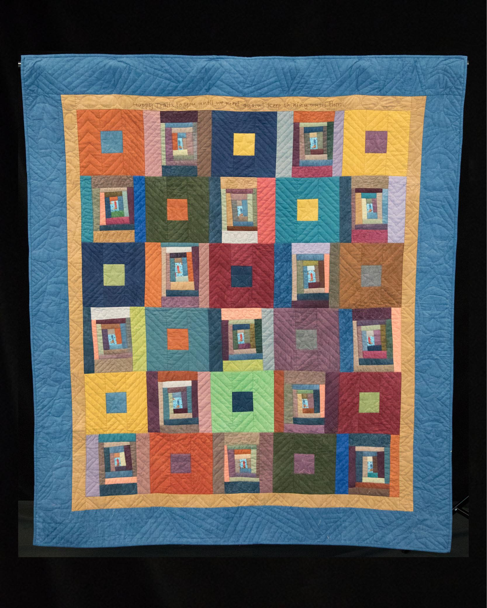 Ovarian Cancer Quilt Project S Online Auction 2019 Happy Trails Tx