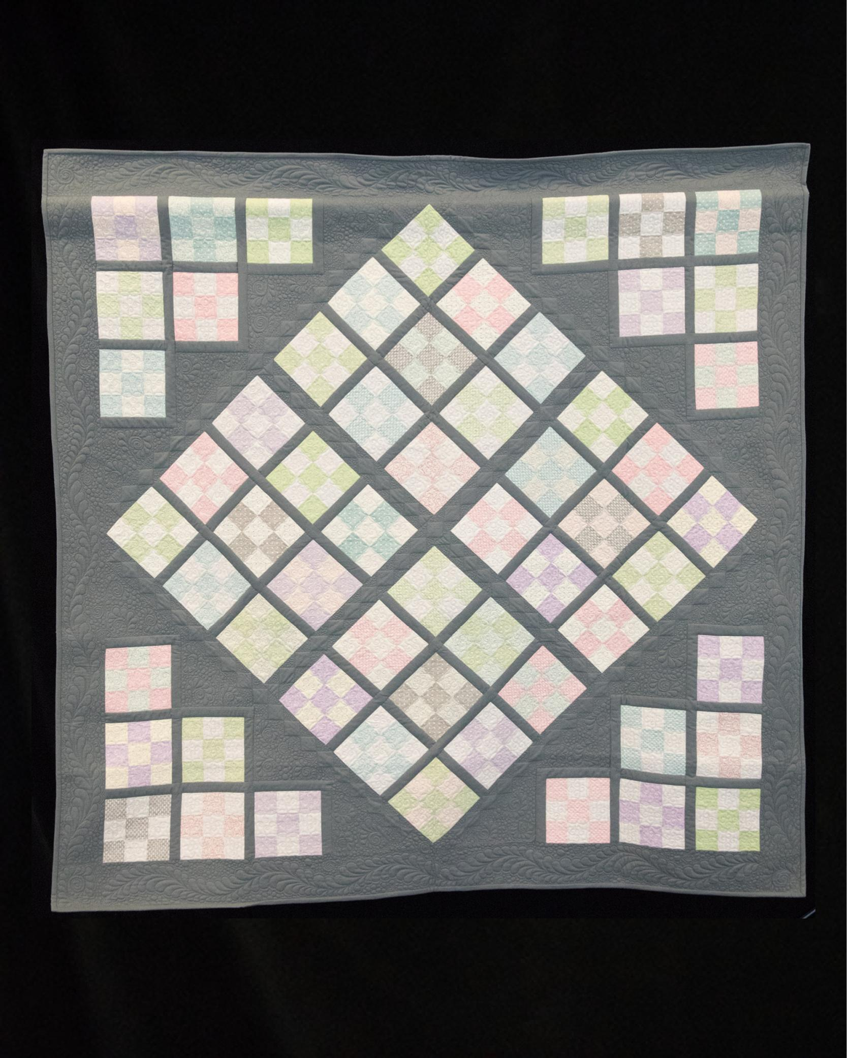 Ovarian Cancer Quilt Project S Online Auction 2019 Nine By Nine Tx