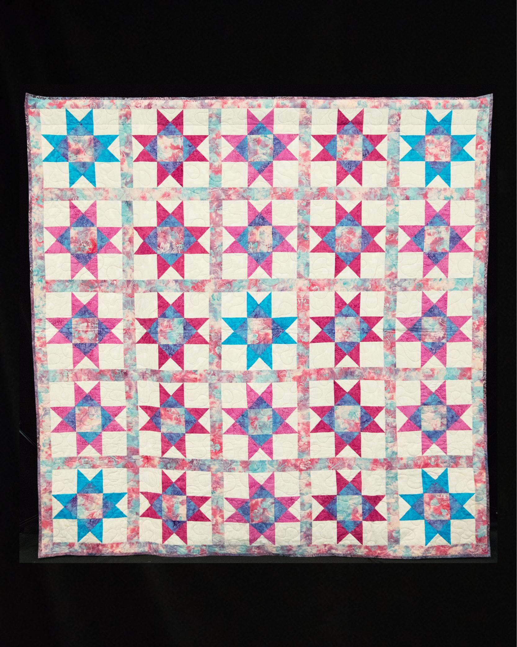 Ovarian cancer quilt